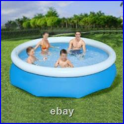 10ft x 30inch Round Above Ground Swimming Pool 57307E 1004 gal For kid/Adult Use