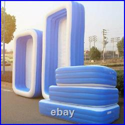 120 x 72 for adult Square swimming pool garden pool swimming pool big