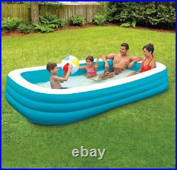 120 x 72 garden pool big swimming pool Square swimming pool for adult