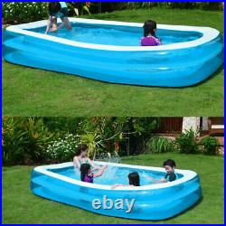 168 x 82 big padding pool inflatable Square swimming pool for adult