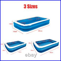 2020 Summer Large Family Inflatable Swimming Pool Water Sports Adult Kids Pump