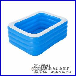 59 x 41 thick material above ground pool for adult spas big swimming pool