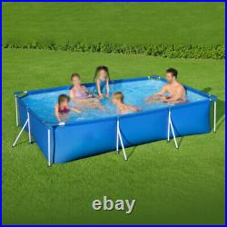 9.8ftx6.6ftx26in Rectangular Above Ground Swimming Pool Easy to set up Kid/Adult