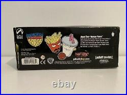 AQUA TEEN HUNGER FORCE Hot Topic Exclusive Figures Toys Rare Collectibles