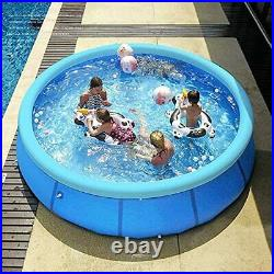 Above Ground Swimming Pool For Adults 10 Ft x 30 In Inflatable Pool Swimmin