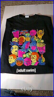 Adult swim X-large t shirt rare Carls jr Hardees, employees only