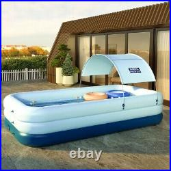 Automatic Inflation Wireless Child Baby Adult Pump Swimming Pool with Sunshade