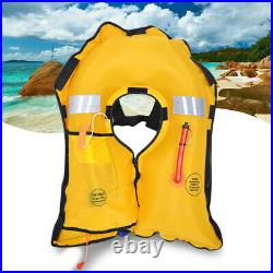 Automatic Life Jacket PFD Inflatable Adult Fishing Vest Water Swimming Survival