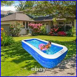 Family Inflatable Swimming Pool Lounge Pool for Baby Kiddie Kids Adult Infant