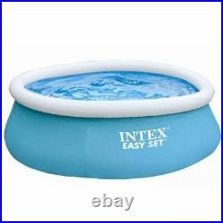 Family inflatable pool above ground swimming pool kid adult children blue 183 cm