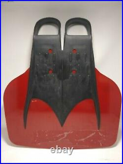 Finis Shooter Monofin XXL Red Adult Mermaid-Style Swimming Flipper Fin