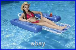 Floating Pool Lounge Single Adult Lounging Water Swimming Float Chair Summer Toy