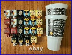 Hardees Adult Swim 99% Full Collection 22 Toys Missing Super Rare Hardees Star
