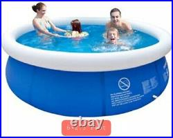 Inflatable 6×2 swimming pool adult children family full size leisure