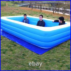 Inflatable Family Swimming Pools for Kiddie Adults, Swim Center Garden Backyard