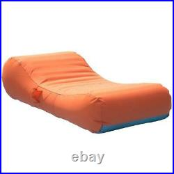 Inflatable Lounger Swimming Pool Beach Lake Float for Kids Adult Washable Cover