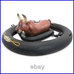Inflatable Pool Toy Adults Kids Float Giant Bull Riding Inflatabull Swimming New