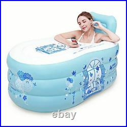 Inflatable Swimming Pool Hot Tubs Electric Pump Folding Durable Adult Plastic