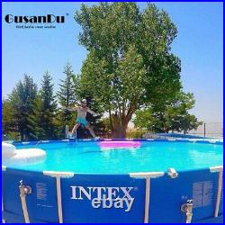 Large Family Round Metal Steel Tube Bracket Swimming Pool Adult Pool Party