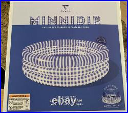 Minnidip Luxe Adult Swimming Pool Exclusive Berry Gingham Design 5 NEW 2020