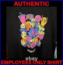 NEW Hardee's Carl's Jr XL EMPLOYEES ONLY T-shirt Adult Swim (Never Worn)
