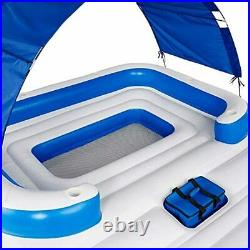 Oasis Foam Raft Inflatable Lake Pool Lounge Water 6 Person Party Giant Adult New