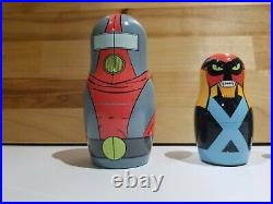 Official Space Ghost Nesting Doll Set Limited Edition Adult Swim zorak brak