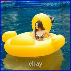 Pool Float Inflatable Boat Rubber GIANT Duck Swimming Adult Swim Cool Party Gift