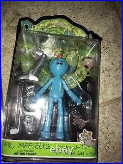 Rick & Morty Action Figure Lot Inc Snowball Built Outside Package