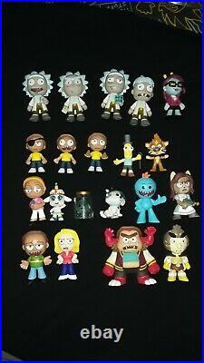 Rick and Morty Funk Pop! Mystery mini lot rare pops GHOST IN A JAR Adult Swim