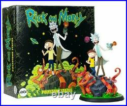 Rick and Morty Polystone Statue by Mondo Sideshow Adult Swim Limited 1000 RARE