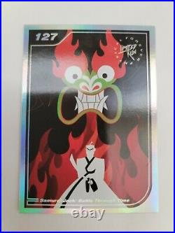 Samurai Jack Battle Through Time Collector Edition box with card 127 & New Game