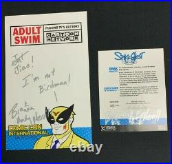 Space Ghost Limited Edition 351/2,500 Brak Maquette Statue Adult Swim (Signed)