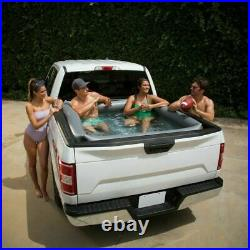 Summer Waves Inflatable Truck Bed Adult Swimming Pool Portable (66x62x21) W