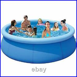 Swimming Pool for Family Kids and Adults 12ft 35in Outdoor Pools Above Blue