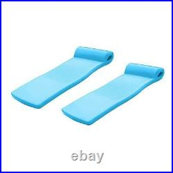 TRC Recreation Ultra Sunsation Adult Outdoor Swimming Pool Lounger Raft (2 Pack)