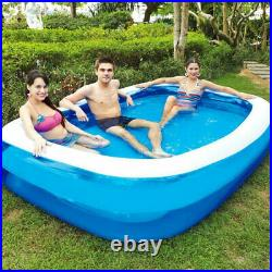Thick material pool set for adult inflatable Square swimming pool padding pool