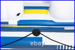 Tropical Breeze Floating Island Raft Giant Inflatable Pool float for adults